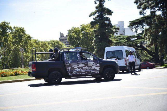 Llegaron a tribunales los acusados del crimen del Pájaro Cantero con una custodia extrema