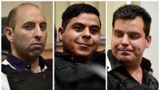 Luis Bassi, Maximiliano Salazar y Milton Damario, absuletos por el crimen de Claudio Pájaro Cantero.