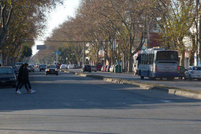 Avanza la remodelación de la avenida San Martín en varios tramos