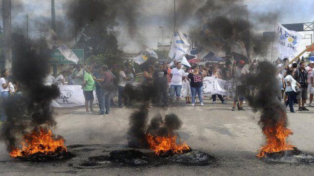 El piquete donde ocurrió el siniestro está ubicado en el acceso Norte a San Lorenzo.