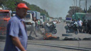 La CGT San Lorenzo decidió levantar los cortes de ruta por el trágico incidente