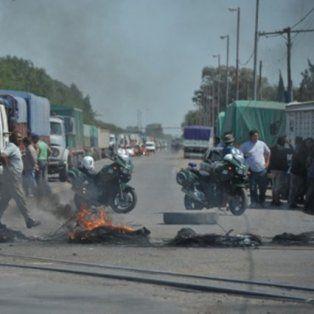 la cgt san lorenzo decidio levantar los cortes de ruta por el tragico incidente