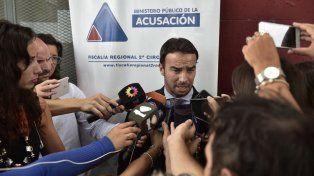 El fiscal confirmó que el camionero rosarino nunca detuvo su marcha ante el piquete de San Lorenzo.