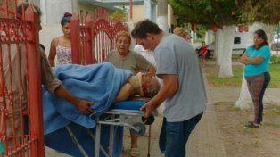 El abuelo de Marco Ruben fue víctima de una entradera feroz en Fran Luis Beltrán. (Foto vía Twitter:@HBruscaglia)
