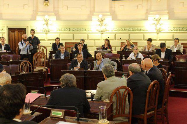 El encuentro para analizar los problemas de la cooperativa Sancor se llevó a cabo en la Legislatura provincial.