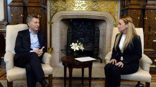 El presidente Macri llamó a recomponer el orden democrático en Venezuela.