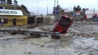 En Comodoro Rivadavia ya hay más de mil evacuados por el temporal.