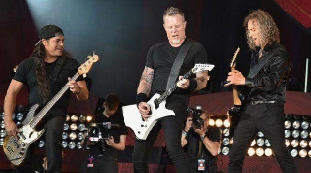 Metallica estará hoy cerrando la jornada inicial en el Lollapalooza