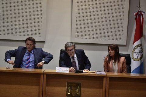 tribunal. Ismael Manfrín
