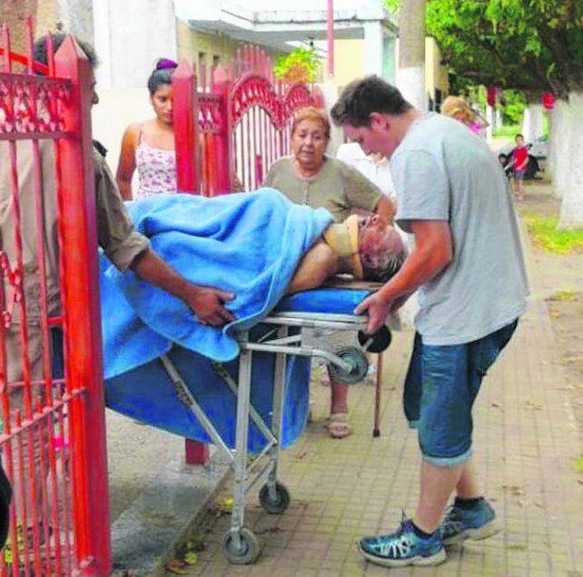 El abuelo de Marco Ruben fue víctima de un brutal asalto en su vivienda