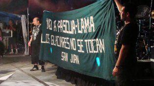 Tras las muertes en el show del Indio Solari, La Renga suspendió presentación en San Juan