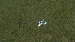 Imagen aérea de los Esteros del Iberá