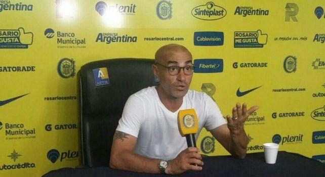 Montero no confirmó el equipo pero confía en que Colman pueda estar presente ante Sarmiento.