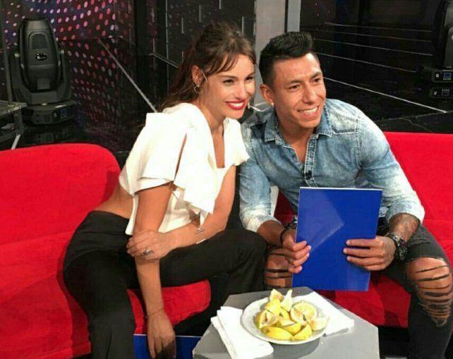 Brian Sarmiento fue uno de los invitados del programa piloto de la modelo y actriz.