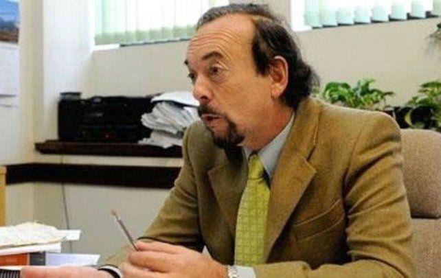 Protestas. Carlos Alberto Carbone es el presidente de la Cámara de Apelaciones en lo Penal.
