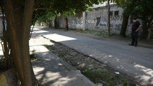 Pasaje 521. El lugar donde mataron a Quintana en enero pasado.