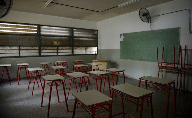 Postal preocupante. Las aulas vacías se repitieron este mes y en abril ya hay en agenda otros dos días de huelga docente.