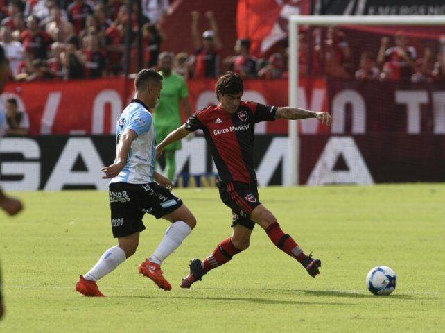 Mauro Formica en acción ante la Crema.