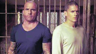 rejas. Dominic Purcell y Wentworth Miller