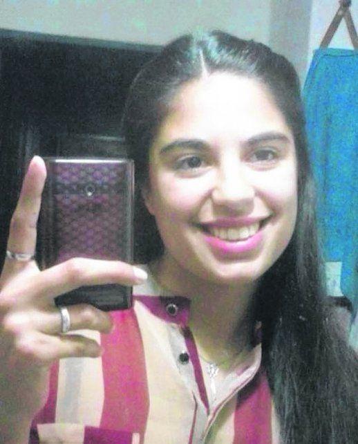 Micaela. La chica es estudiante del profesorado de Educación Física.