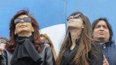 El embargo para Cristina Kirchner y su hijo Máximo fue de 130 millones a cada uno. El de Florencia fue de cien millones de pesos.