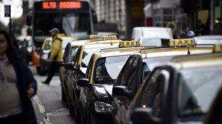 Los controles, para taxis y colectivos.