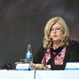 Esa decisión ya está tomada, dijo la ministra de Educación sobre el descuento de los días de paro.