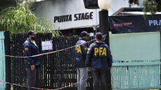 La imagen del boliche Punta Stage tras la trágica fiesta.