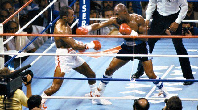 Sugar Ray Leonard-Marvin Hagler, sorprendieron al mundo en un combate épico hace 30 años