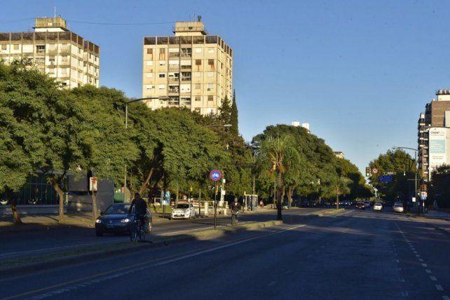 Las fotos del paro general de la CGT que se hace sentir fuerte en Rosario