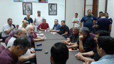 En la sede de UOM se reunieron representantes de más de 50 gremios que consideraron un éxito el apro de hoy.