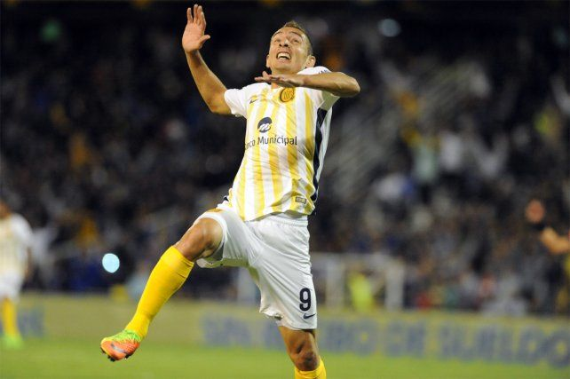 Marco Ruben convirtió el segundo gol de la noche y se acordó de su abuelo.