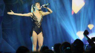 Lali Espósito está de gira presentando su nuevo disco.