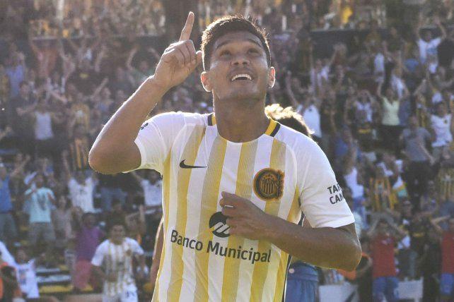 El colombiano reapareció entre los once ante Tigre y anotó el único gol en la victoria auriazul.