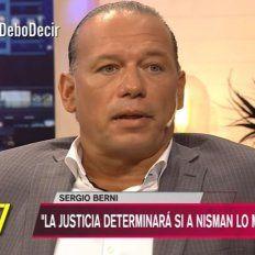 sergio berni revelo los dialogos que tuvo con la madre de nisman en la casa del fiscal
