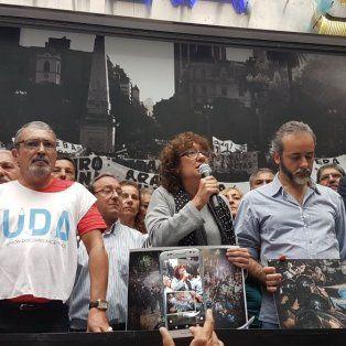los docentes convocaron a un paro nacional de 24 horas para manana contra la represion