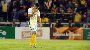 Salazar sufrió una distensión muscular y se perderá los próximos partidos de Central