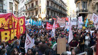 Una multitud reclamó en Corriente y Córdoba no a la represión.