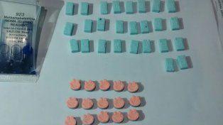 Detuvieron a un joven con 60 pastillas de éxtasis en un control de una fiesta electrónica