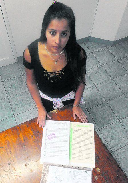 denunciante. Cristina aportó documentación que avala su reclamo.