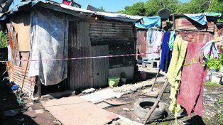 Candela Maciel fue alcanzada por una bala adentro de su casa.