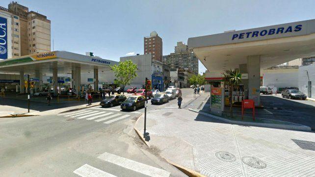 El prófugo fue detenido en Sarmiento y Pellegrini.
