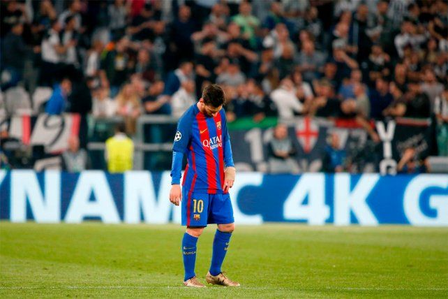 Lamento. El dolor de Messi