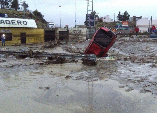 En marzo llovió en Comodoro Rivadavia un 1.660% más que lo habitual