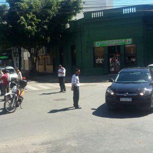 La esquina de Lagos y San Lorenzo, donde se produjo el violento incidente.