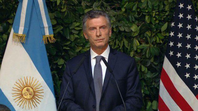 Macri busca estrechar los lazos con el gobierno de los Estados Unidos.