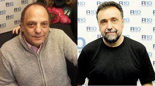 Fuerte encontronazo entre Baby Etchecopar y Roberto Navarro en los pasillos de Radio 10