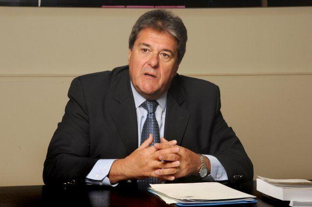 El diputado provincial Luis Rubeo (h).