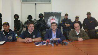 El comisario mayor de la unidad regional de la Policía de Investigación
