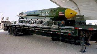 El artefacto explosivo no nuclear más poderoso de Estados Unidos fue lanzado en Afganistán.